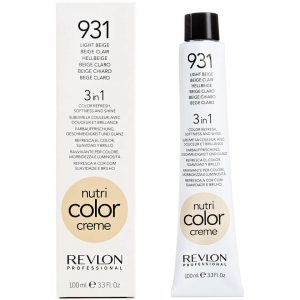 Revlon Nutri Color Creme 100 ml- 931- Light Beige