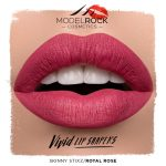 Model Rock VIVID LIP SHAPERS – *ROYAL ROSE* Skinny Stixz