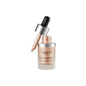 Liquid Radiance Highlighter Drops Ivory – glistening champagne pearl shimmer